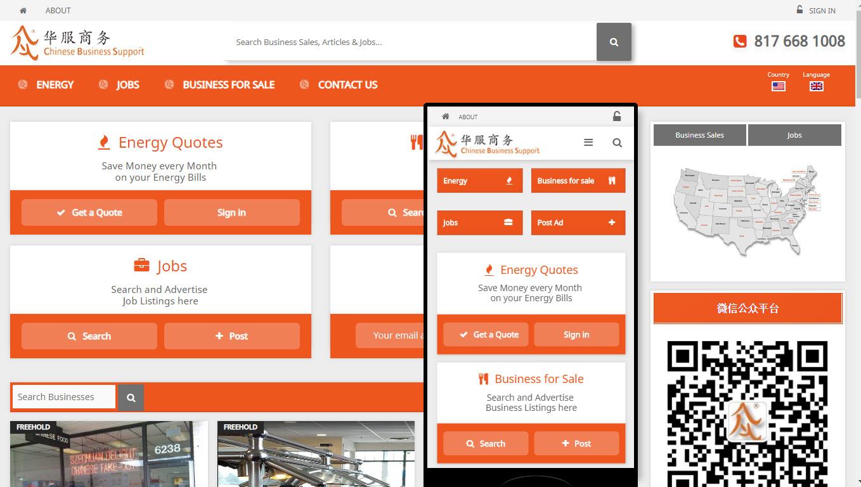 Multi-Language Website Development